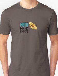 National Moth Week - logo horizontal Unisex T-Shirt