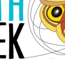 National Moth Week - logo horizontal Sticker