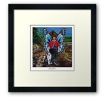 Eilish and Chester Framed Print