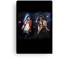 Keith and Mick Canvas Print