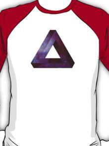 Infinite Penrose Triangle Galaxy T-Shirt