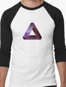 Infinite Penrose Triangle Galaxy Men's Baseball ¾ T-Shirt