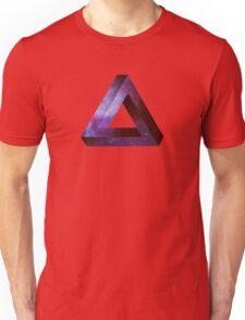 Infinite Penrose Triangle Galaxy Unisex T-Shirt