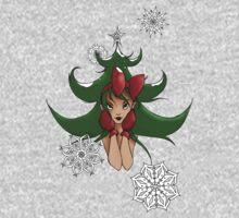 Snowflake: Christmas Tree One Piece - Long Sleeve