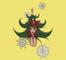Snowflake: Christmas Tree Kids Tee