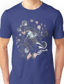 Cowgirl Drawing - Tattoo Style T-Shirt