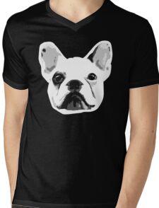 Frenchie Face Wrinkles :D Mens V-Neck T-Shirt