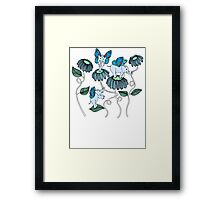 Look Out For Elephlies Framed Print