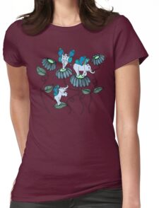 Look Out For Elephlies Womens Fitted T-Shirt