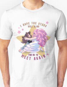 "Greg Universe & Rose Quartz Dancing from Steven Universe ""Stars"" version Unisex T-Shirt"