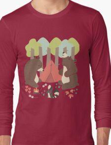 Bears of Summer Long Sleeve T-Shirt
