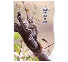 I Pledge my Love To You  Poster