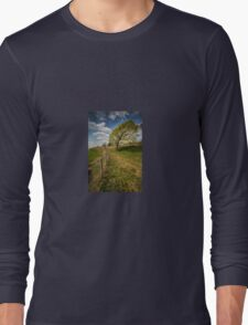 'Drunk' Tree Long Sleeve T-Shirt