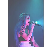 Halsey  Photographic Print