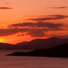 Sunset Over Isle of Mull by Andrew Robertson