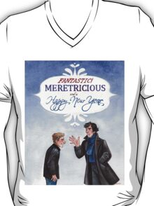 And a Happy New Year - BBC Sherlock T-Shirt
