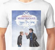 And a Happy New Year - BBC Sherlock Unisex T-Shirt