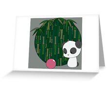 Bamboo Panda Greeting Card