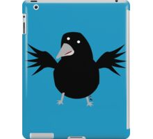 Black crow iPad Case/Skin