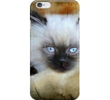 Little Blue Eyes iPhone Case/Skin