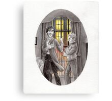 "Life is Infinitely Stranger"" - Sherlock and John - 221B version #  Canvas Print"