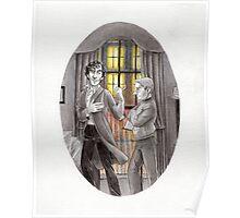 """Life is Infinitely Stranger"""" - Sherlock and John - 221B version #  Poster"""