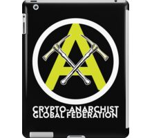 Crypto Anarchist Bitcoin Currency Litecoin Peercoin Dogecoin Ethereum  iPad Case/Skin