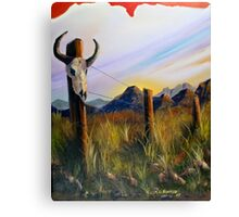 Western Landscape Canvas Print