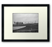 Industrial Decay Framed Print