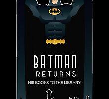 Batman Returns His Books by AvatarSkyBison