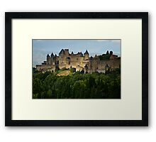 Carcassonne, France Framed Print