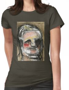 band-aid man Womens Fitted T-Shirt