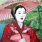 Geisha Doll by DarkRubyMoon