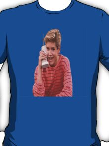 Zack Morris Saved By the Bell 90's Design T-Shirt