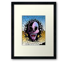 Skull Break Framed Print