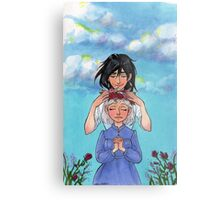 Sophie and Howl: Sophie's Coronation Metal Print