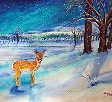 Winter Wonderland 3 of 4 by DarkRubyMoon