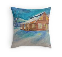 Winter Wonderland 4 of 4 Throw Pillow