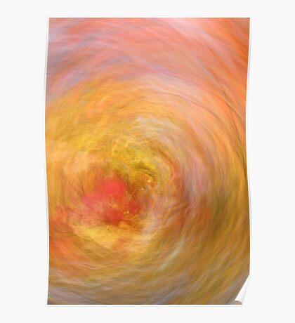 Rosy Hibiscus Poster