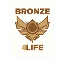 League of Legends - Bronze Forever Art Print
