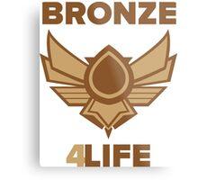 League of Legends - Bronze Forever Metal Print
