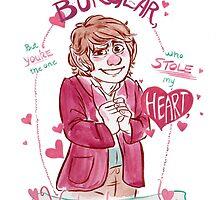 Bilbo Baggins - Buglarhobbit Valentine by livielightyear