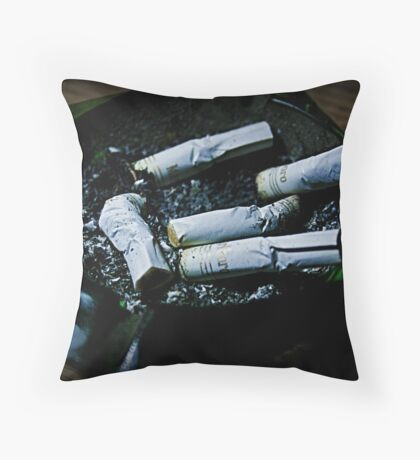 Butt I NEED to Quit Throw Pillow