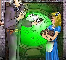 SteamPunk Alice by DarkRubyMoon