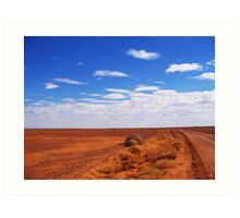 The Outback Art Print