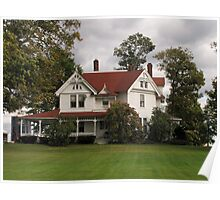 Country Farmhouse Poster