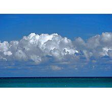 Puerto Rican Sky Photographic Print