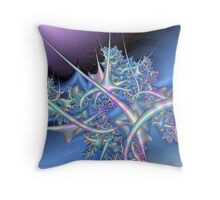 Ice Sculpture Throw Pillow