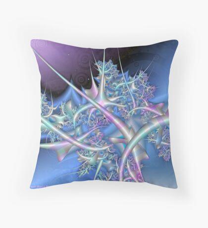 Ice Sculpture Throw Pillow