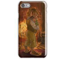 Bilbo and Baby Frodo Baggins iPhone Case/Skin